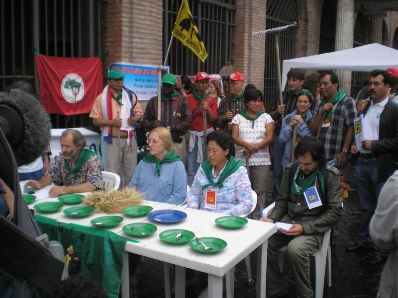 Marcia per il clima e Terra Preta 2008